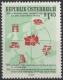 ANK Nr. 1036, Michel Nr. 1027, Internationaler Städtebaukongreß Wien per 6 Stück, postfrisch, ANK € 30,-- DB D637