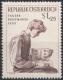 ANK Nr. 1032, Michel Nr. 1023, Tag der Briefmarke 1955 per 12 Stück, postfrisch, ANK € 72,-- DB D637