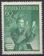 ANK Nr. 974, Michel Nr. 957, Tag der Briefmarke 1950 per 5 Stück, postfrisch, ANK € 75,-- DB D1016