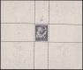"""Österreich, 1947, ANK Nr. 846 P IV, MICHEL Nr. 837, 100 Jahre Telegraphie in Österreich, Farbprobe in Schwarzviolett als EINZELABZUG IM KLEINBOGEN, postfrisch, rückseitig mit Archivnummer 131e/48, ATTEST Soecknick """"echt und einwandfrei"""", DB VF2420"""