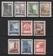 ANK Nr. 867 - 876, Michel Nr. 858 - 867, Wiederaufbau, 10 Serien bzw. Sätze, postfrisch, ANK € 60,-- DB D1016