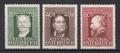 ANK Nr. 864 - 866, Michel Nr. 855 - 857, Ziehrer, Stifter, Amerling postfrisch