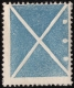 Ausgabe 1858, kleines Andreaskreuz in Blau mit Plattenzeichen, ungebraucht mit Falzrest, sign. Dr. Anton Seitz, sehr feines Stück, BEFUND Arnold Goller, DB