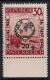 Österreich, 1946, ANK Nr. 775 III, Michel Nr. 771 III, UNO Tag der Liga mit Pattenfehler 5 statt 6 Striche, postfrisch